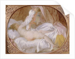 The Chemise Removed or The Lady Undressing by Jean-Honore Fragonard
