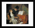 The Music Lesson by Jean-Honore Fragonard