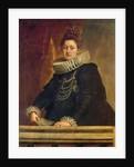 Portrait of Isabel Clara Eugenia of Habsburg, Infanta of Spain by Peter Paul Rubens