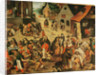 Works of Mercy by Pieter the Younger Brueghel