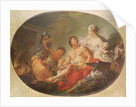 The Foundry of the God Vulcan by Francois Boucher