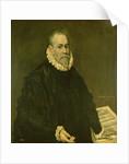 Doctor Rodrigo de la Fuente by El Greco