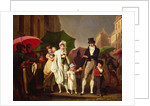 The Downpour by Louis Leopold Boilly