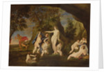 Actaeon metamorphoses into a stag by Francesco Albani