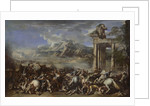 Heroic Battle, 1652 by Salvator Rosa