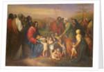 Let the little children come to me by Joseph-Nicolas Robert-Fleury