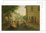 Lunch in a Park by Francois Boucher