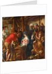 Adoration of the Shepherds by Jacob Jordaens