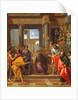 A Preparatory Study Depicting The Miracle of Saint Paul, The Blinding of Elymas by Nicolas Pierre Loir