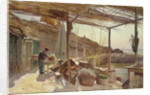The Storehouse at Ciotat by Charles Beauverie