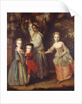 Edward Holden Cruttenden's Children with their Indian Ayah by Joshua Reynolds