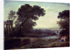 Noon or Landscape with the Rest on the Flight into Egypt by Claude Lorrain