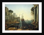 Ulysses Returning Chryseis to her Father by Claude Lorrain