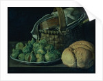 Still Life With Figs by Luis Egidio Menendez or Melendez