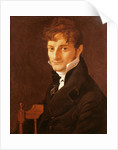 Portrait of Belvèze-Foulon, friend of the artist by Jean Auguste Dominique Ingres