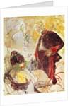 Artilleryman and girl by Henri de Toulouse-Lautrec