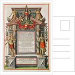 Admiranta Narratio.... Frontispiece by Theodore de Bry