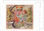 Admiranta Narratio..., Armorial Engraving by Theodore de Bry