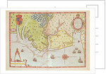Admiranta Narratio... Map of Virginia by Theodore de Bry