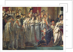 The Consecration of the Emperor Napoleon I and the Coronation of Empress Joséphine in Notre-Dame Cathedral by Jacques Louis David