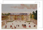The Chateau de Choisy, courtyard side by Chevalier