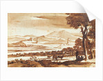Landscape of the Roman Countryside by Claude Lorrain