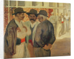 Construction Workers by Theophile Alexandre Steinlen