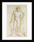 Young Nude Man by Albrecht Dürer or Duerer