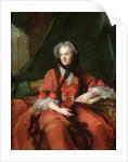 Portrait of Madame Maria Leszczynska 1748 by Jean-Marc Nattier