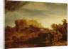 Landscape with a Chateau by Rembrandt Harmensz. van Rijn