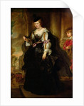 Portrait of Helene Fourment with a Coach by Peter Paul Rubens