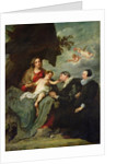 Madonna and Child with Donors by Sir Anthony van Dyck