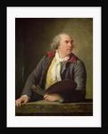Portrait of Hubert Robert by Elisabeth Louise Vigee-Lebrun