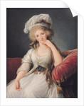 Louise-Marie Adelaide, Duchesse d'Orleans by Elisabeth Louise Vigee-Lebrun
