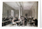 Interior of a Parisian Cafe by Louis Leopold Boilly