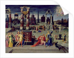 Augustus and the Tiburtine Sibyl by Antoine Caron