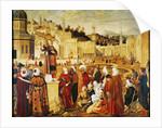 St. Stephen Preaching by Vittore Carpaccio