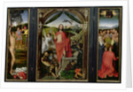 Triptych of the Resurrection by Hans Memling