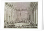 The Formal Audience of the Directory, 30th Brumaire An IV by Jean Duplessi-Bertaux