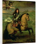 Equestrian Portrait of Louis XIV Crowned by Victory by Pierre Mignard