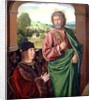 Peter II Duke of Bourbon presented by St. Peter, left hand wing of a triptych by Master of Moulins