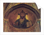 Christ Pantocrator, in the apse, Byzantine, 12th century by Anonymous