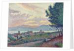 St. Tropez, Pinewood by Paul Signac