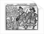 Beggars All: Beggars Bush, a Wandering Beggar and a Gallant Beggar by English School