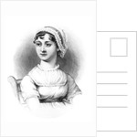 Portrait of Jane Austen by English School