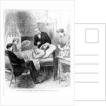 President Garfield Lying Wounded in his Room at the White House, Washington by American School