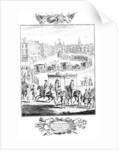 King Charles II: Triumphal Entry into the City of London at his Restoration by English School