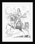 Equestrian portrait of his Excellency Sir Thomas Fairfax 3rd baron by Edward Bower