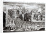 A Prospect of the Town and Harbour of Carthagena, taken by the English underthe brave Admiral Vernon by English School