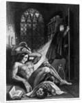 Illustration from 'Frankenstein' by Mary Shelley by Theodor M. von Holst